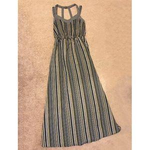 Xhilaration Dresses - Multi-color Striped Maxi Dress
